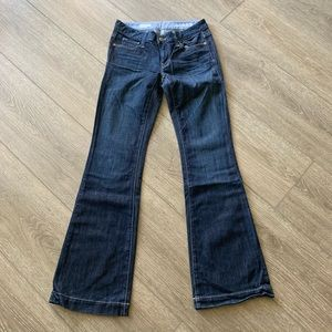 Gap 1969 jeans long and lean size 25/0 regular
